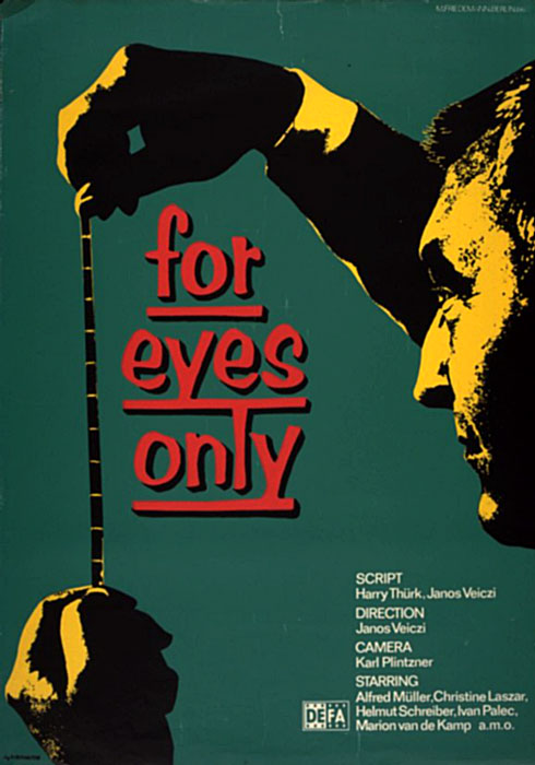 For Eyes Only Film Poster