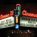 German Film Festival 2013 – Cinema 21 marquee