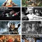Program postcard for German Film Festival 2013